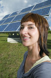 Meine Solarwelt Stockfoto