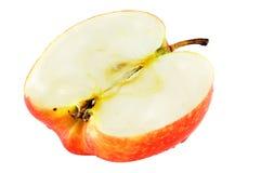 Meio Apple isolado Imagem de Stock Royalty Free