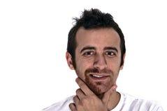 Meio barba-seducer Fotos de Stock Royalty Free