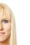 Meio blonde da face Imagens de Stock Royalty Free