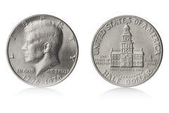 Meio dólar Imagem de Stock Royalty Free