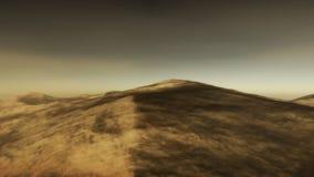 Meio do deserto (laço de HD) ilustração stock