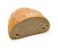 Meio naco de pão Fotos de Stock Royalty Free