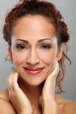 Meio natural bonito mulher envelhecida foto de stock royalty free