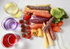 Meio vegetais Imagem de Stock