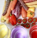 Meio vegetais Fotos de Stock
