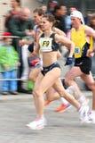 Meios corredores de maratona Imagem de Stock Royalty Free