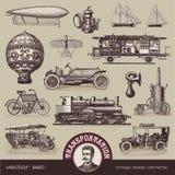 Meios do vintage de transporte Foto de Stock Royalty Free