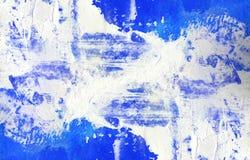 Meios mistos abstratos fundo ou textura Imagem de Stock