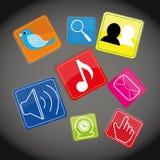 Meios sociais Imagem de Stock Royalty Free