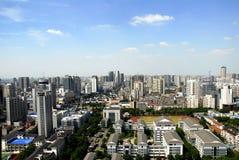 Meipark van Hong Stock Foto