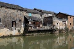 Meipi-Dorf, ein mysteriöses und altes chinesisches Dorf Stockfoto