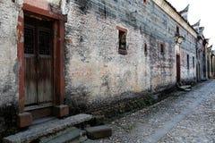 Meipi-Dorf, ein mysteriöses und altes chinesisches Dorf Lizenzfreie Stockbilder