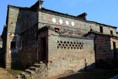 Meipi-Dorf, ein mysteriöses und altes chinesisches Dorf Stockbilder