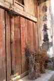 Meipi-Dorf, ein mysteriöses und altes chinesisches Dorf Lizenzfreies Stockfoto
