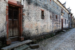 Meipi Village , a mysterious and ancient chinese village Royalty Free Stock Images