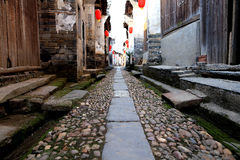 Meipi Village , a mysterious and ancient chinese village Royalty Free Stock Photo