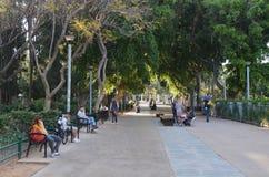 Meir Park in Tel Aviv - Israel Royalty Free Stock Photo