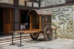 Meisha 10月东部深圳谷茶茶戴恩展示古镇支架 库存照片