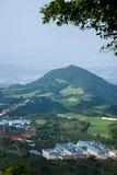 Meisha 10月东部深圳风谷高尔夫球场 免版税图库摄影