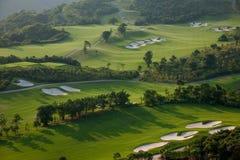 Meisha 10月东部深圳风谷高尔夫球场 图库摄影