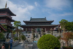 Meisha OCT East Shenzhen Huaxing Temple Square congregation pagoda Qibao pool Stock Photography