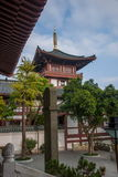 Meisha OCT East Shenzhen Huaxing Temple Square congregation pagoda Qibao pool Royalty Free Stock Photos
