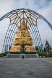 Meisha OCT East Shenzhen Huaxing Temple surrounded by golden Buddha Buddha sitting on lotus Royalty Free Stock Images