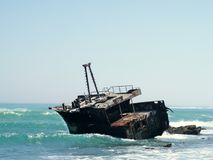 Meisho Maru wreck royalty free stock image