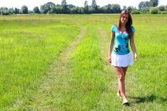 Meisje 24 van de zomer stock afbeeldingen
