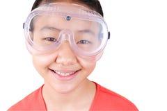 Meisje 6 van de wetenschap Stock Afbeelding