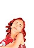 Meisje royalty-vrije illustratie