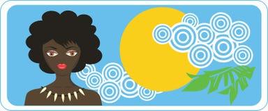 Meisje Afrika Royalty-vrije Stock Foto