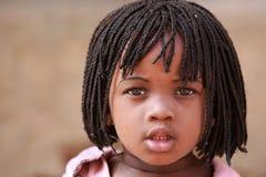 Meisje in Afrika stock fotografie
