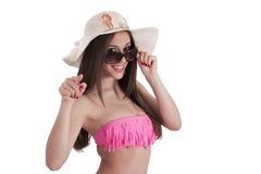 Meisje in Bikini stock afbeelding