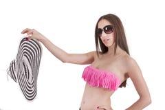 Meisje in Bikini stock fotografie