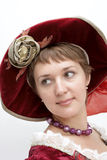 Meisje in bonnet Royalty-vrije Stock Foto