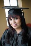 Meisje dat enkel een diploma behaalde Royalty-vrije Stock Foto's