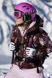 Meisje dat sporttoestel draagt Royalty-vrije Stock Fotografie