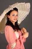 Meisje in de Kleding van de Periode Royalty-vrije Stock Afbeelding
