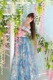 Meisje in een balkleding Royalty-vrije Stock Afbeelding