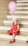 Meisje in een hoed royalty-vrije stock foto