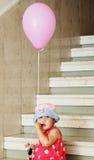 Meisje in een hoed royalty-vrije stock fotografie