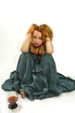 Meisje in een kleding Royalty-vrije Stock Fotografie