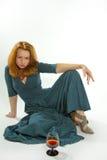 Meisje in een kleding Royalty-vrije Stock Foto's