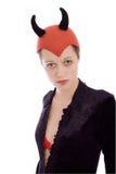 Meisje in een kostuum Royalty-vrije Stock Fotografie
