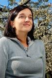 Meisje in een park Royalty-vrije Stock Fotografie