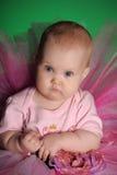 Meisje in een roze pluizige rok Royalty-vrije Stock Afbeelding