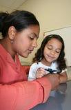 Meisje en Leraar Royalty-vrije Stock Fotografie