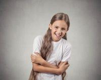 Meisje in glazen Royalty-vrije Stock Foto's